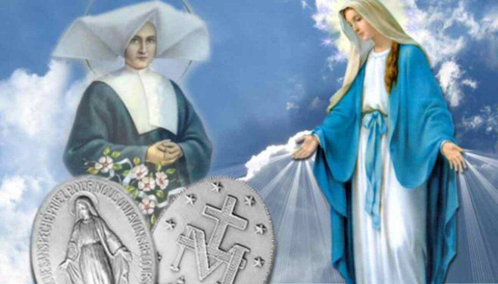 Santa Caterina Labouré - Medaglia Miracolosa