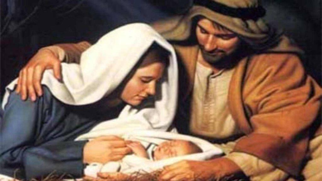 Natale Maria Gesù mangiatoia