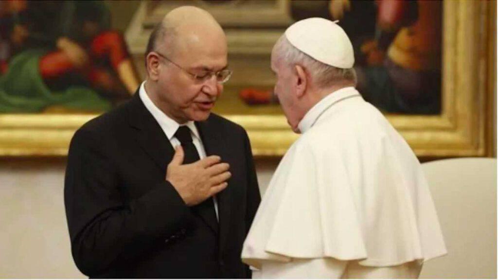 Papa visita Iraq