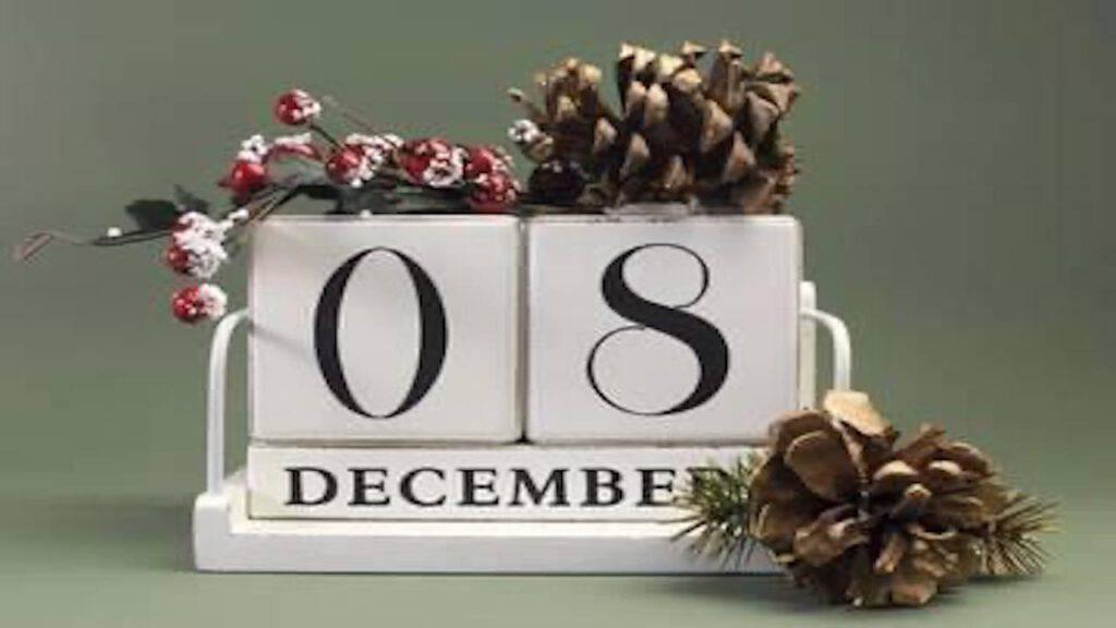 Calendario di Avvento: proposito di oggi, 8 dicembre, festa dell'Immacolata Concezione