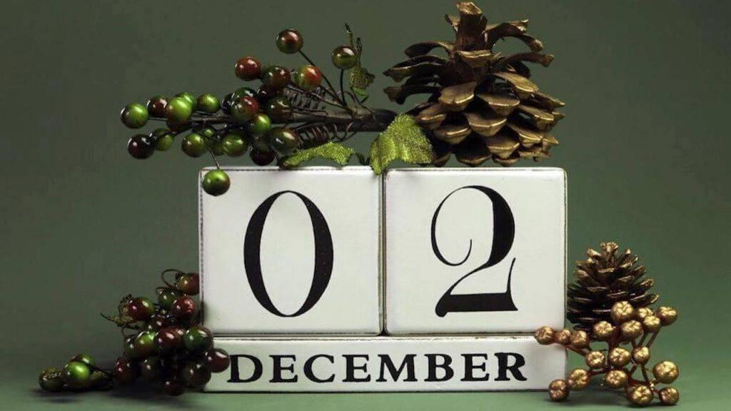 Calendario dell'Avvento: scopriamo il proposito di oggi 2° Dicembre