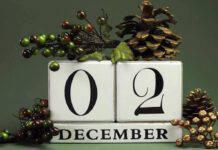 Calendario di Avvento: ogni giorno un proposito