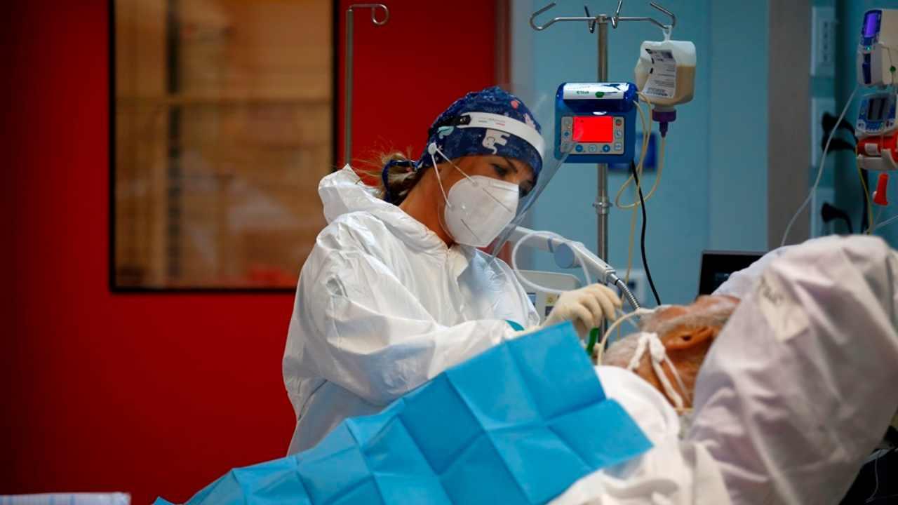 covid ospedale rianimazione infermiera