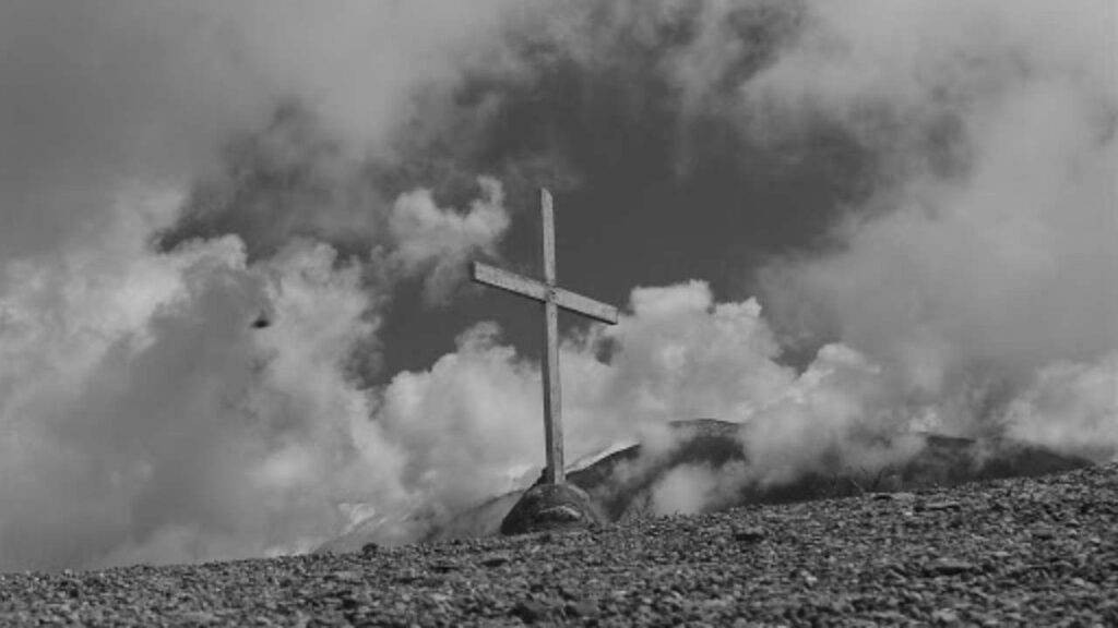 gesù croce montagna