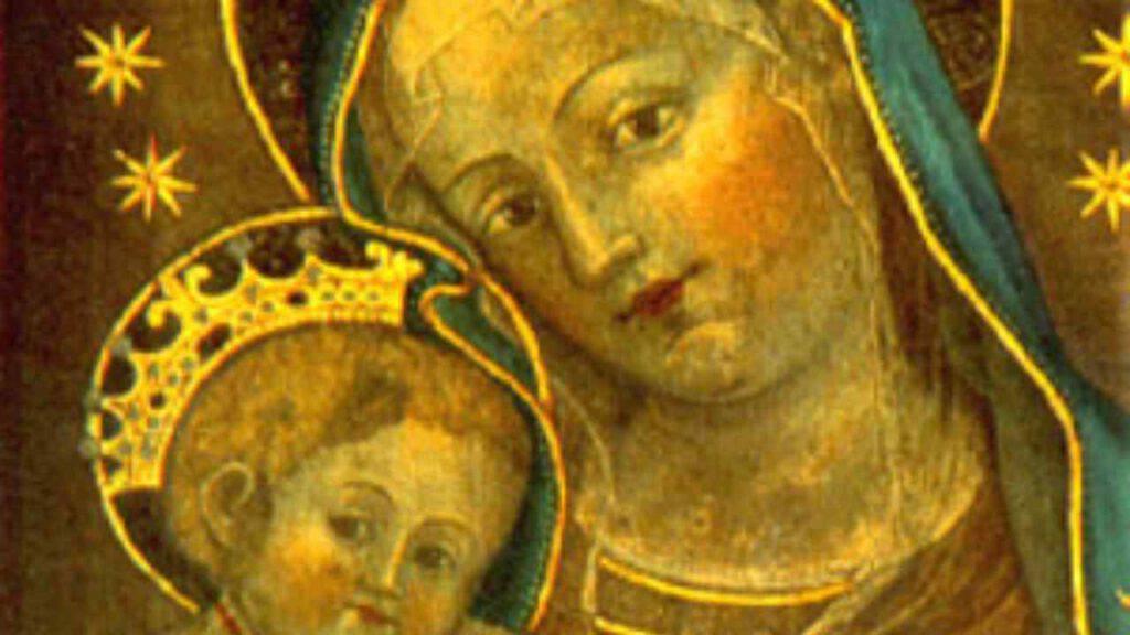 madonna bologna dipinto santa caterina