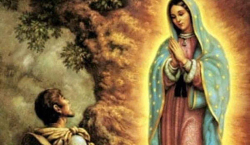 Madonna di Guadalupe: appare a Juan Diego