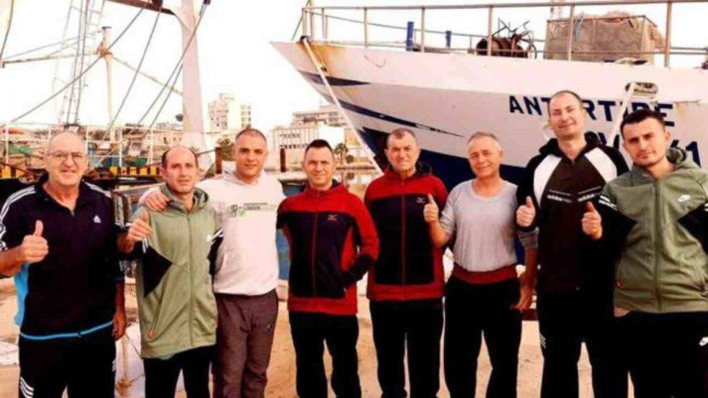 mazara del vallo pescatori liberati libia
