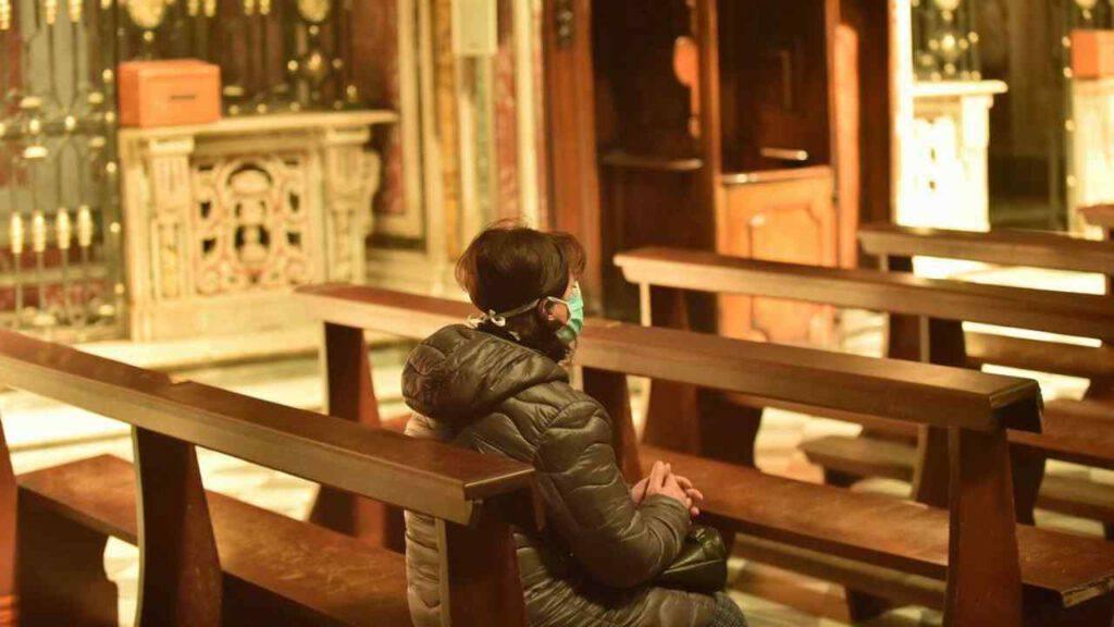 chiesa covid natale preghiera
