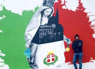 madonna murales motta di livenza