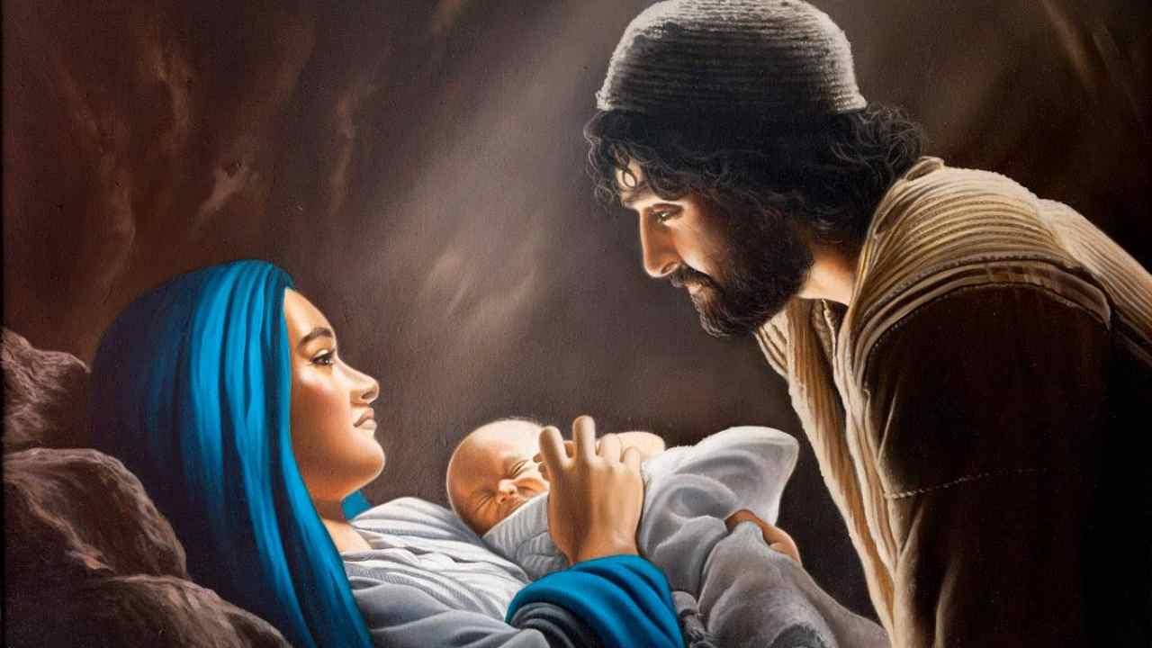 Gesù bambino addormentato