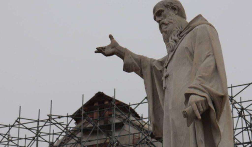 Ricostruzione della Basilica di Norcia