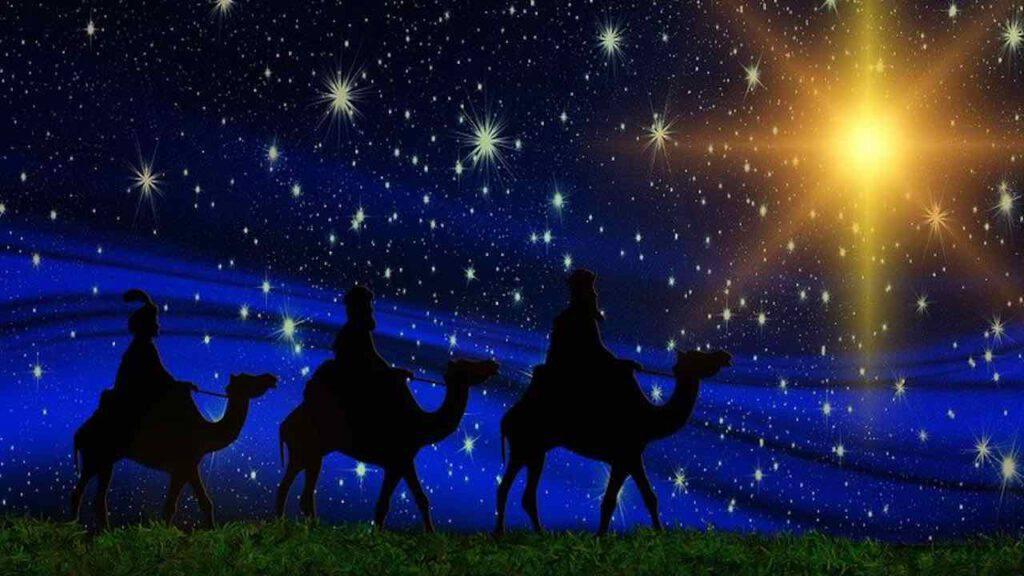 I Re Magi seguono la stella
