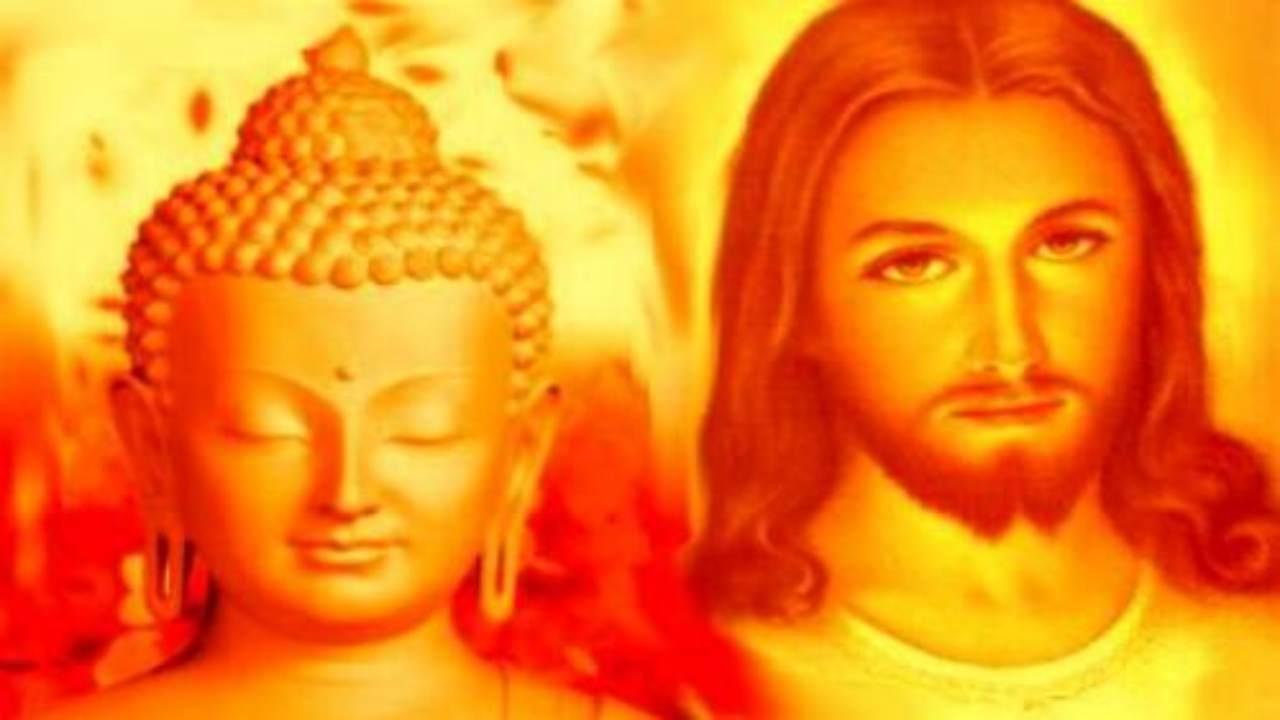 Gesù Cristo e Buddha