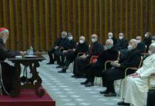Padre raniero, 1a predica di Avvento davanti al Papa