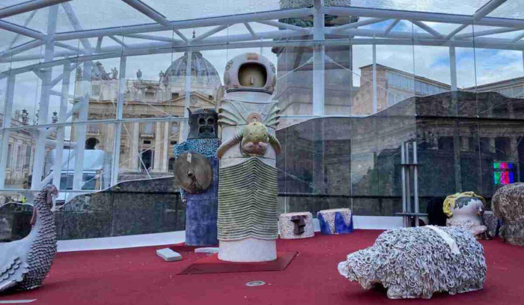 Marziani, astronauti: il Presepe in Vaticano è un flop
