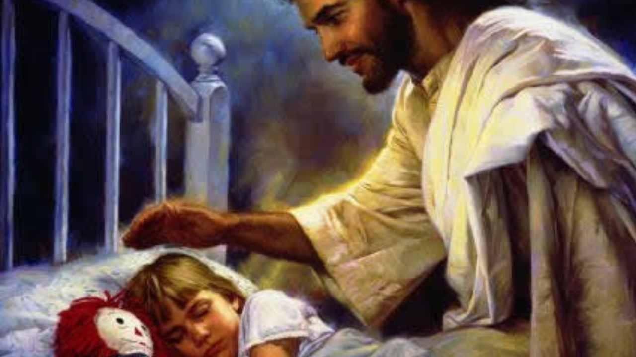 Gesù carezza