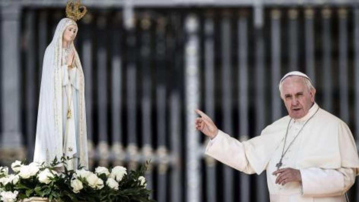 Papa Francesco e Maria