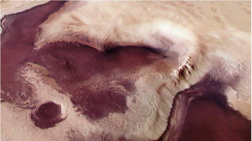 Angelo appare su Marte