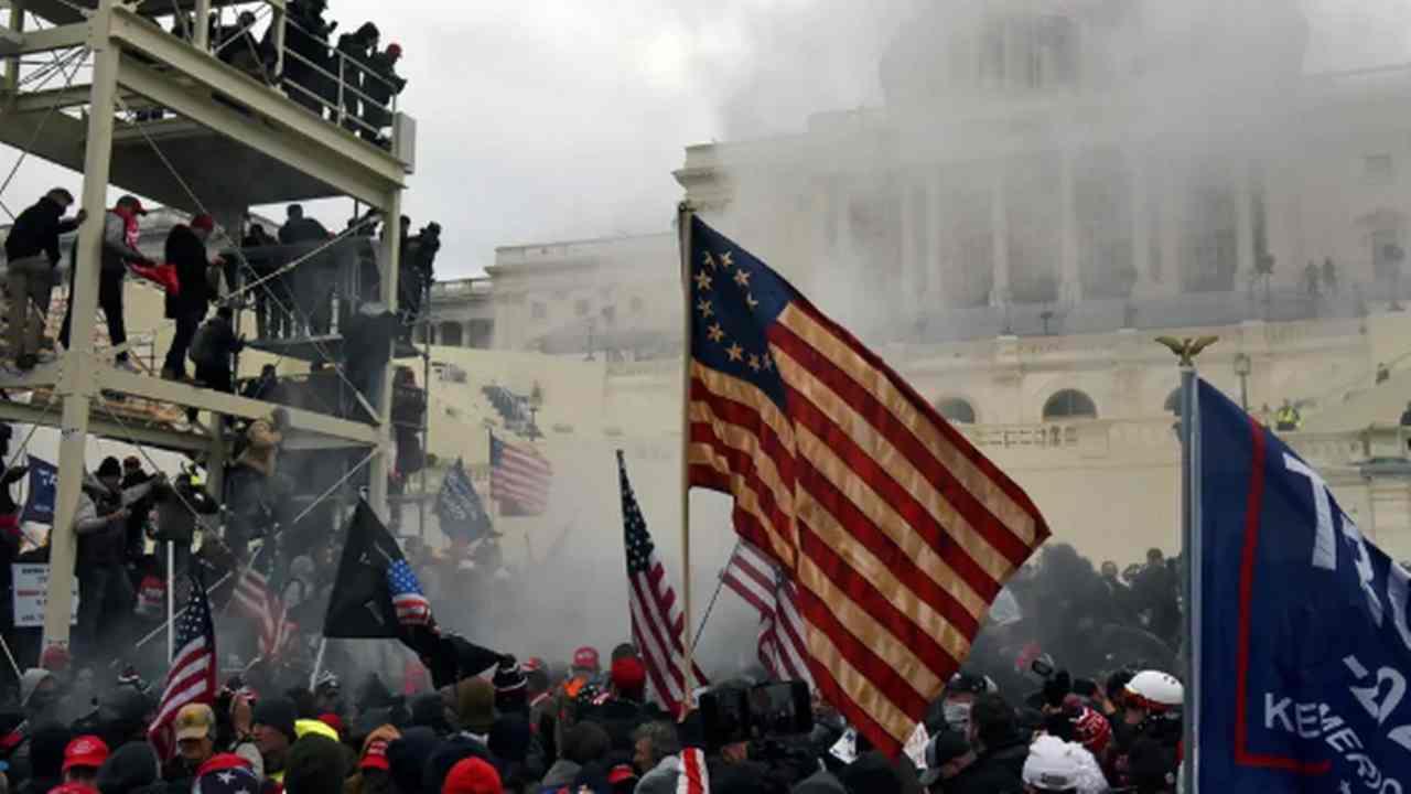 scontri al parlamento americano