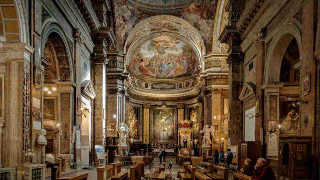basilica sant'andrea delle fratte