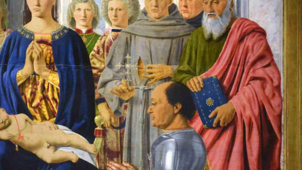 la croce a Federico da Montefeltro