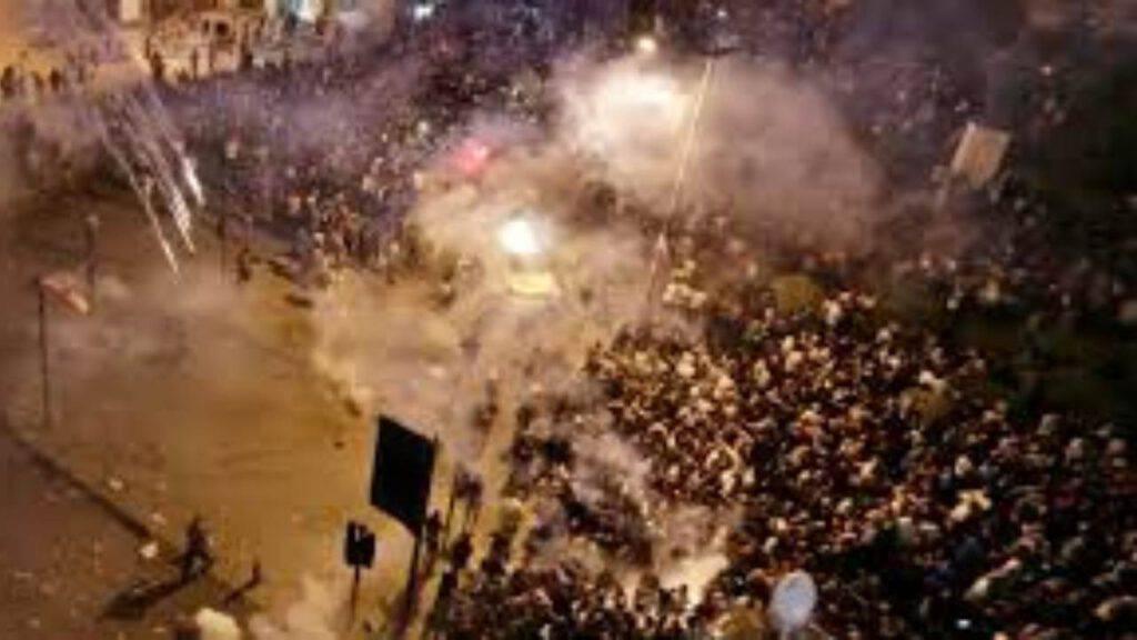 rivolte tripoli libano