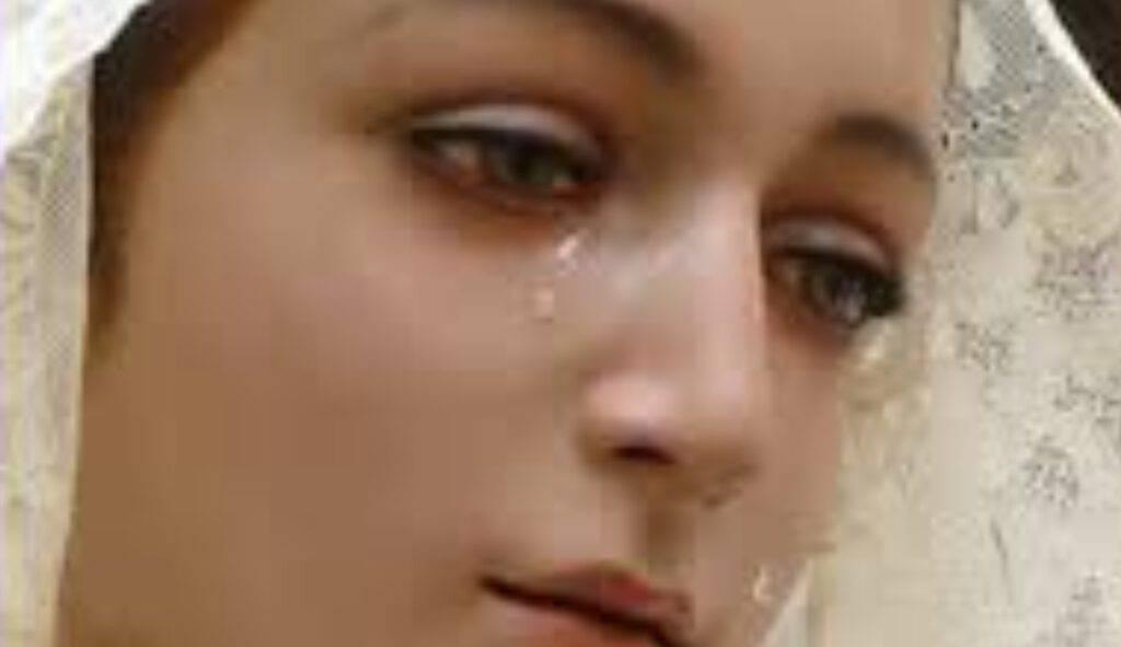 maria lacrime dolore