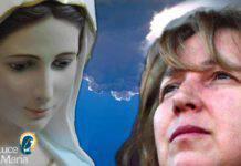 Marja veggente di Medjugorje con la Madonna