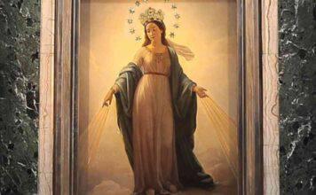 madonna del miracolo chiesa di sant'andrea delle fratte roma
