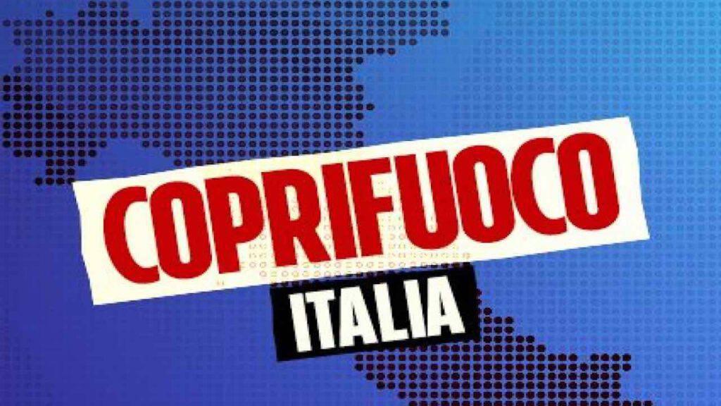 Coprifuoco in Italia