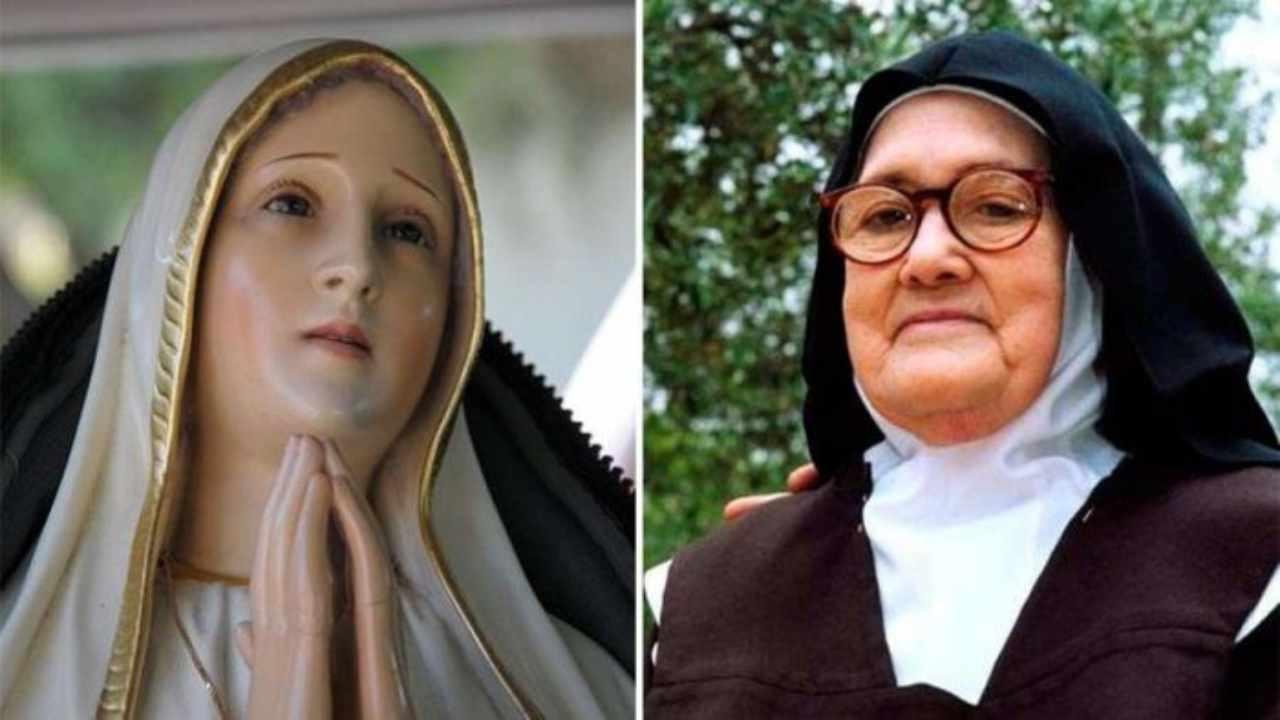 Suor Lucia e la Madonna di Fatima