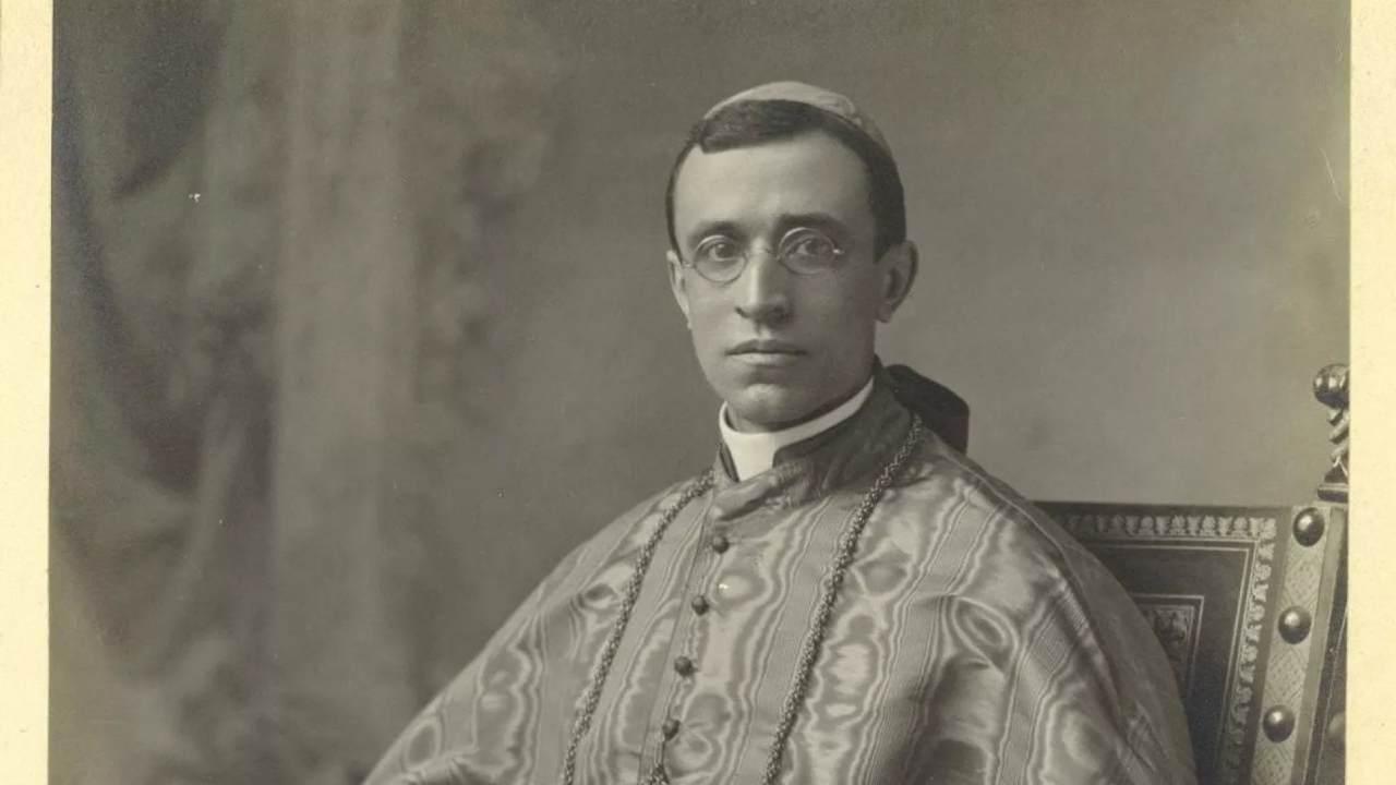 Il giovane Cardinale Pacelli