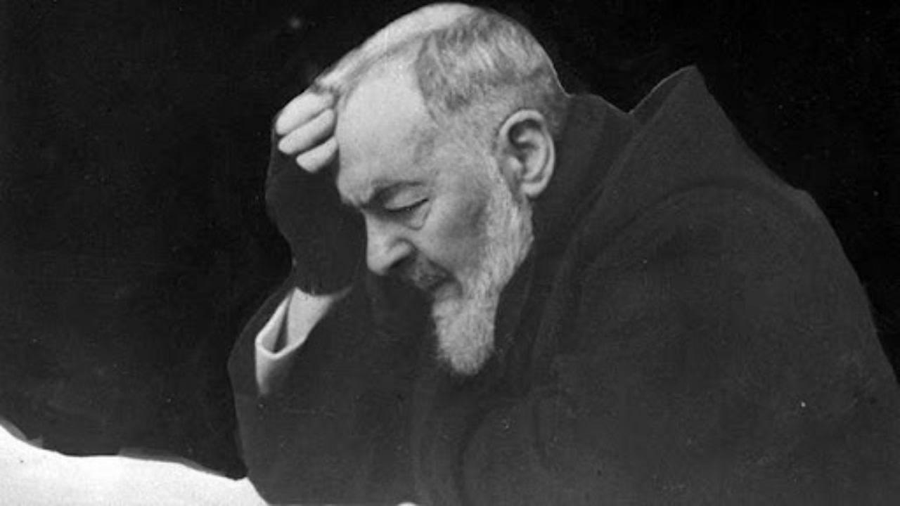 Padre Pio converte un bestemmiatore