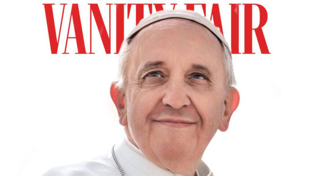 papa francesco vanity fair