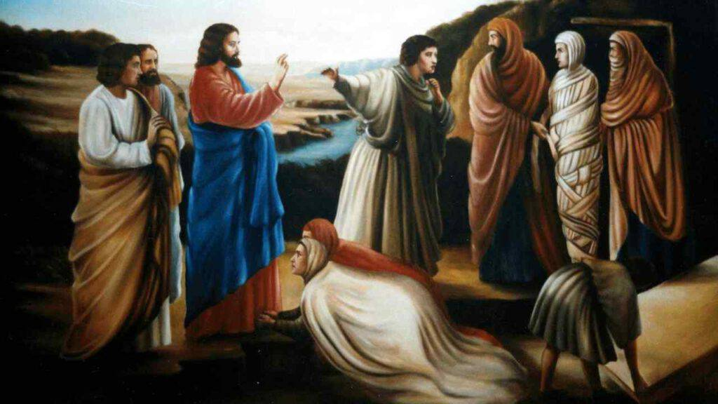 resurrezione gesù lazzaro