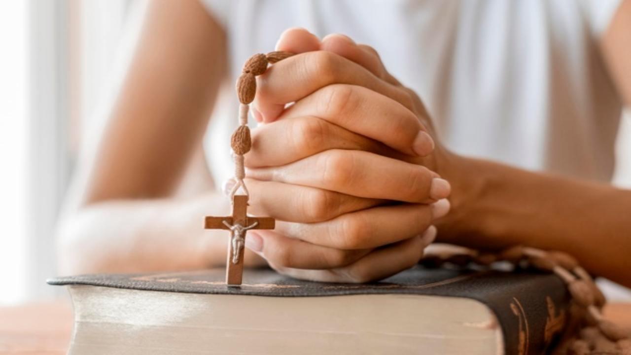la preghiera del rosario