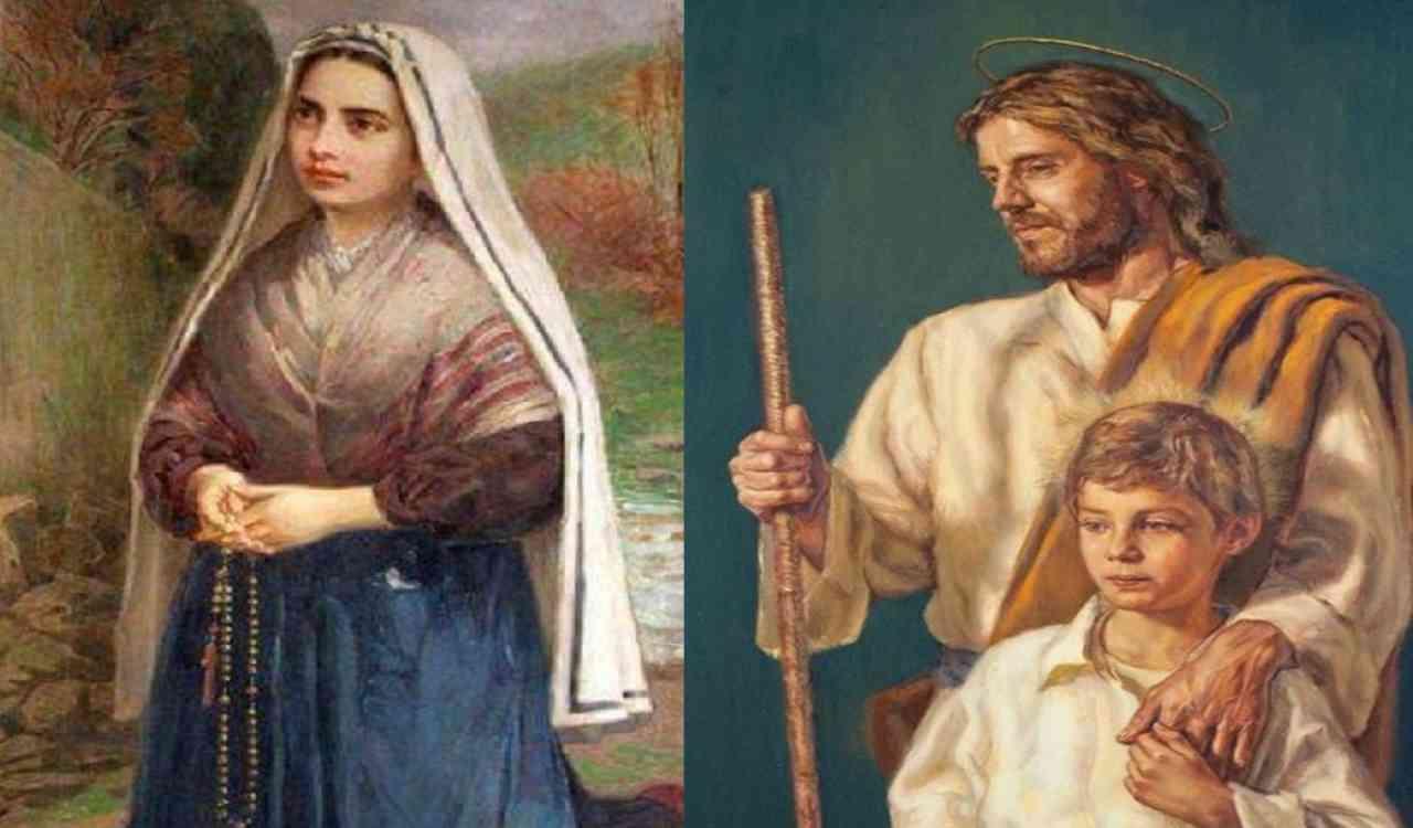 Bernadette e San Giuseppe