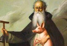 Sant'Antonio Abate e il porcellino