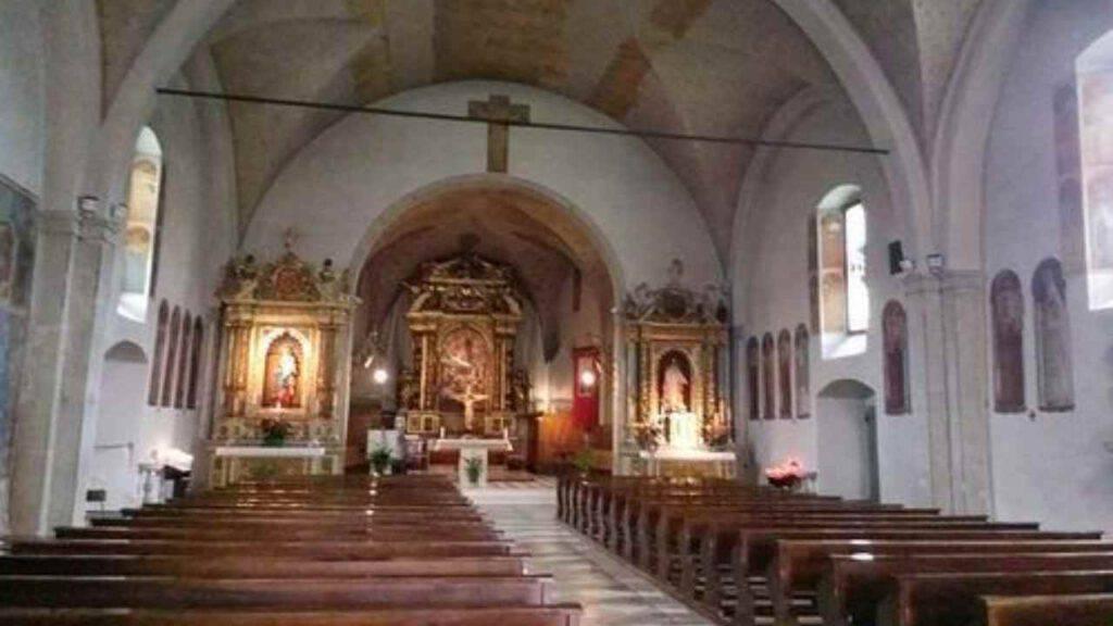 santuario madonna delle grazie folgaria