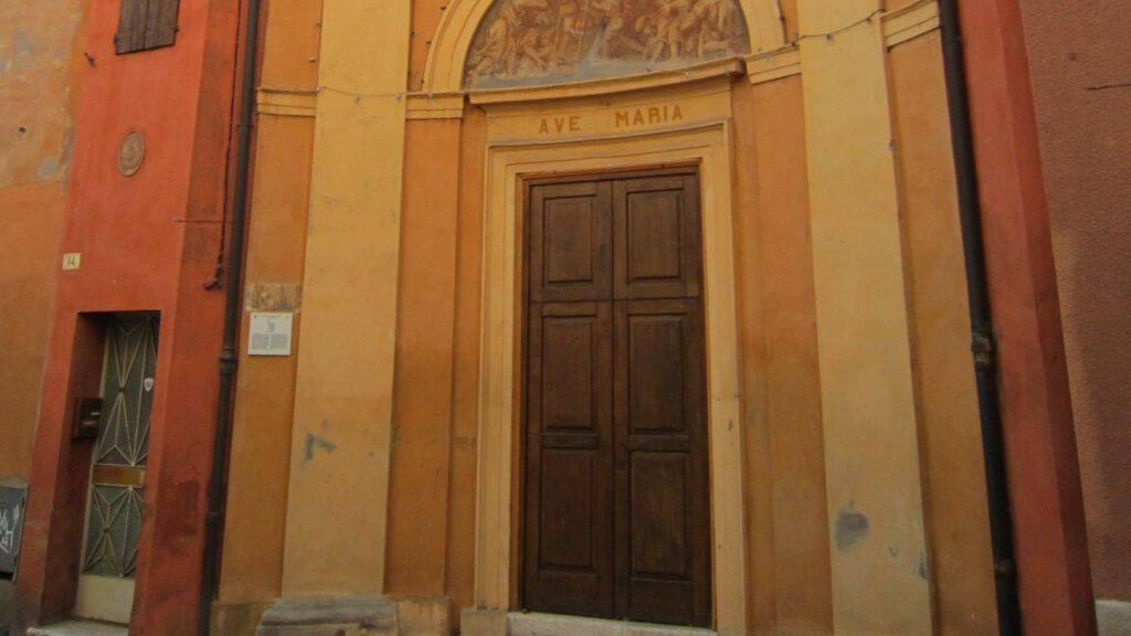 chiesa miracolo madonna fuoco forlì