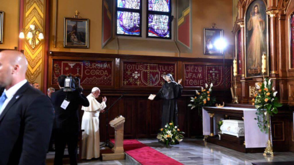 Gesù misericordioso Suor Faustina Kowalska Papa
