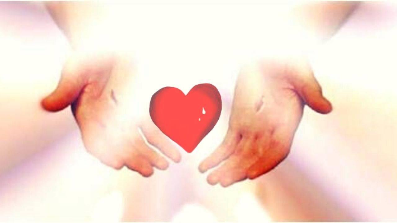 Mani Gesù cuore