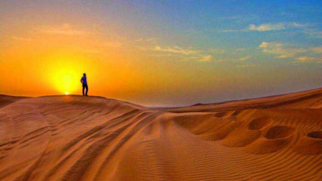 deserto meditazione pensiero