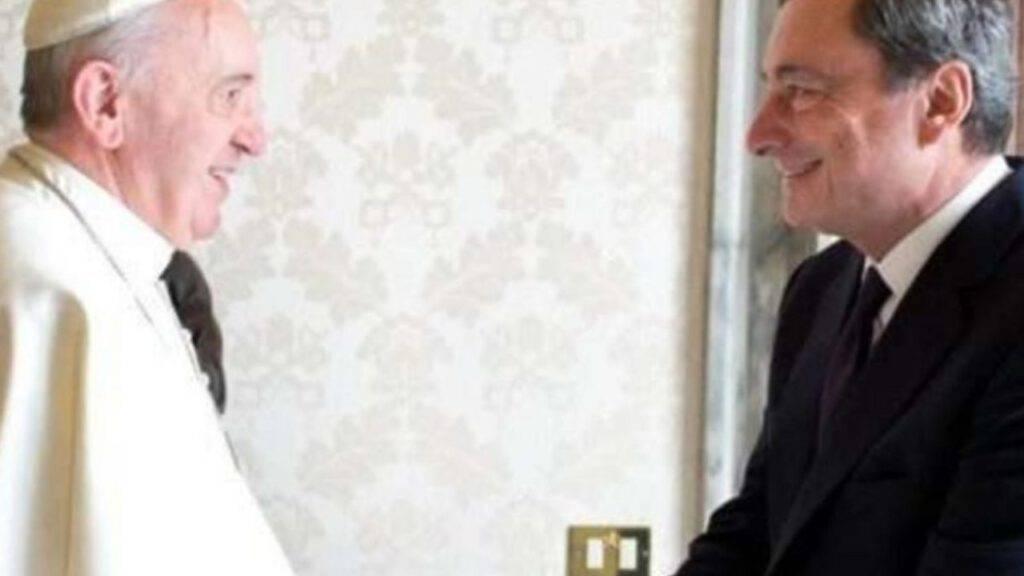 papa francesco mario draghi
