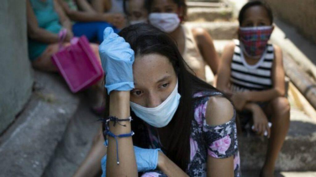 pandemia sofferenza giovane ha paura