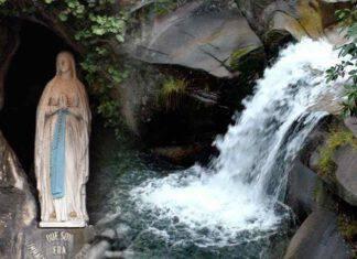 Miracolo Madonna di Lourdes