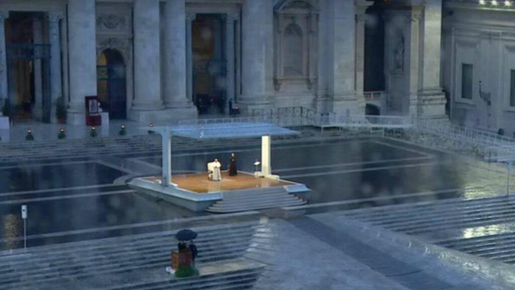 papa francesco 27 marzo piazza san pietro