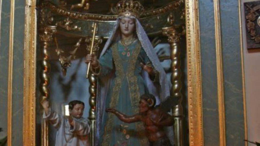 Madonna col demonio