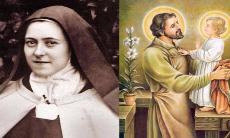 santa teresina e san giuseppe