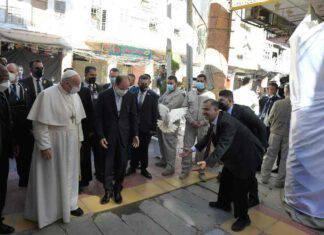 Visita Papa Francesco all'Ayatollah Sayyd Ali Al-Husayni Al-Sistani, leader della comunità sciita irachena